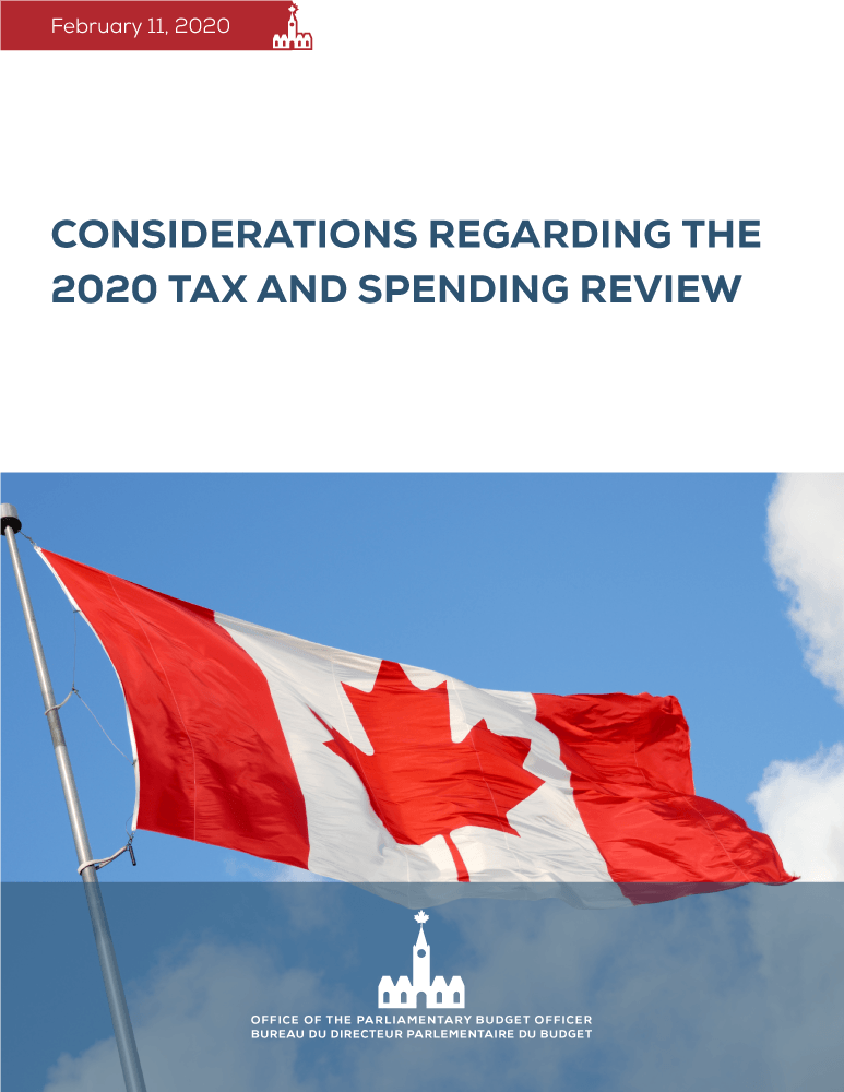 Considerations Regarding the 2020 Tax and Spending Review